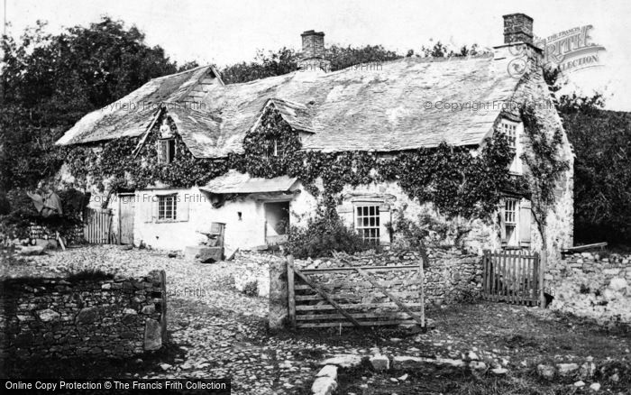 Photo of Dartmoor, An Old Dartmoor Farmstead 1906