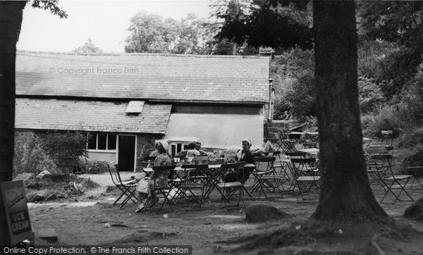 Photo of Dartmoor, Becky Falls, The Cafe c.1955