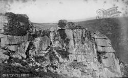 Dartmoor, Benjay Tor c.1869