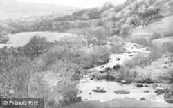 Dartmoor, Dartmeet c.1930