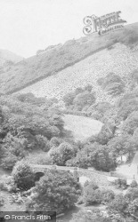 Dartmoor, Fingle Bridge 1906