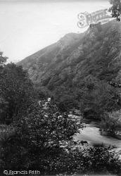 Fingle Glen, Sharp Tor 1910, Dartmoor