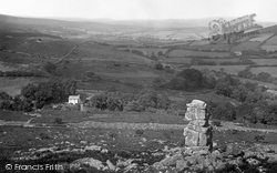 Dartmoor, From Bowerman's Nose Tor c.1930
