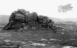 Dartmoor, Haytor c.1930