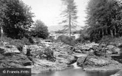 Hill Bridge On The Tavy 1906, Dartmoor
