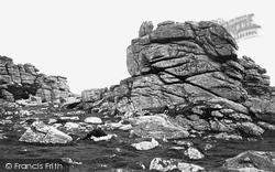 Dartmoor, Hound Tor c.1869