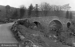 Dartmoor, Huccaby Bridge c.1930