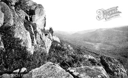 Dartmoor, Lustleigh Cleave From Ravens Tower c.1871