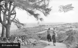 Dartmoor, Morning Ride, Hound Tor c.1950