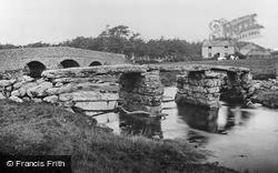Post Bridge c.1900, Dartmoor