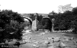 Dartmoor, River Dart, New Bridge 1890