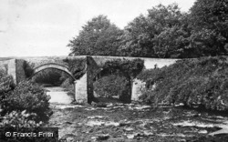 River Dart, New Bridge c.1930, Dartmoor