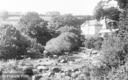 The River And Hotel, Dartmeet c.1930, Dartmoor