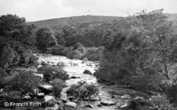 The River Dart c.1930, Dartmoor