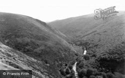 The Teign Gorge 1926, Dartmoor