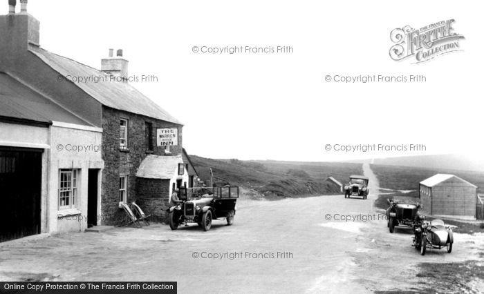 Photo of Dartmoor, the Warren House Inn 1931