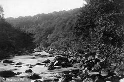 Upper Dart, Holne Chase And Buckland Woods 1890, Dartmoor