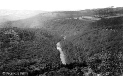 Dartmoor, Upper Dart, View From Upper Buckland Drive 1890