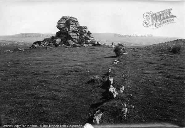Photo of Dartmoor, Vixen Tor 1910
