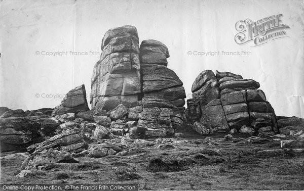 Photo of Dartmoor, Vixen Tor c.1869
