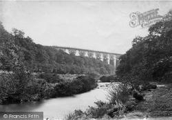 Walkham And Grenofen Viaduct c.1874, Dartmoor