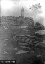 Widgery Cross, Bra Tor 1906, Dartmoor