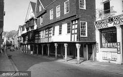 Dartmouth, Butterwalk 1959