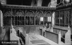 Church Screen 1890, Dartmouth