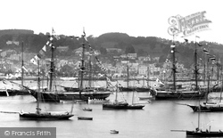 Dartmouth Regatta 1886, Dartmouth