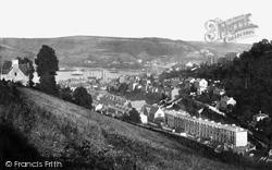 Dartmouth, From Fair View Road c.1874