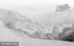 Dartmouth, From Yorke Road 1949