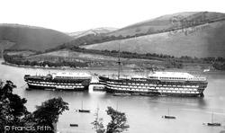 Dartmouth, H.M.S. Britannia 1890