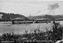 Dartmouth, HMS Britannia And Hindostan 1898