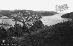 Dartmouth, Kingswear And Mouth Of The Dart 1906