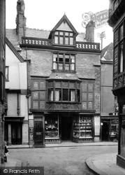 Dartmouth, Mr Cranford's Shop 1918