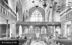 Dartmouth, Parish Church, Nave East 1890