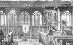 Dartmouth, Parish Church, Pulpit 1890