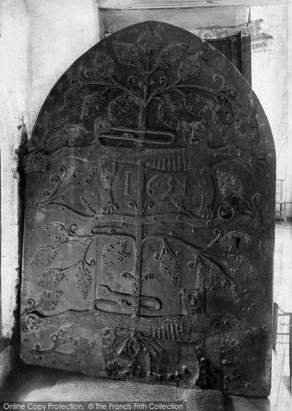 Dartmouth, St Saviour's Church, The Old Door 1896