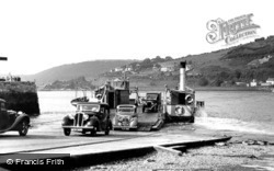 The Floating Bridge c.1950, Dartmouth