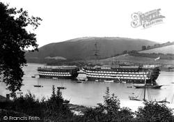 Dartmouth, The Hindostan And HMS Britannia 1889