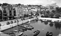 Dartmouth, The Inner Harbour 1955