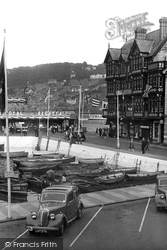 Dartmouth, The Inner Harbour c.1955