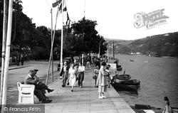 Dartmouth, The Promenade c.1950