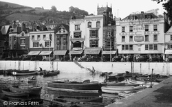 Dartmouth, The Quay And Harbour 1949