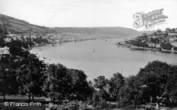 Dartmouth, The River Dart c.1875