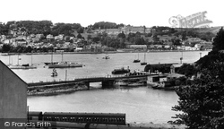 Dartmouth, View From Kingswear c.1951