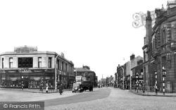 Darwen, Market Street c.1955