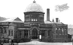 Darwen, Public Library c.1955