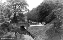 Darwen, Sunnyhurst Wood, Huntington Bridge c.1950