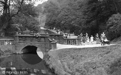 Sunnyhurst Wood, Huntington Bridge c.1950, Darwen